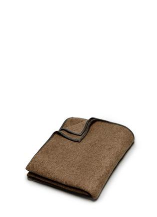 OYUNA-Daya cashmere travel throw