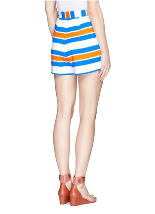 Back View - Click To Enlarge - TANYA TAYLOR - 'Annabelle' stripe shorts