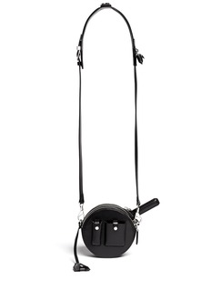 ALEXANDER WANG  'Runway Canteen' round leather shoulder bag