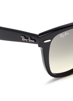 细节 - 点击放大 - RAY-BAN - 'Original Wayfarer' acetate sunglasses