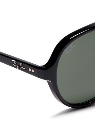 细节 - 点击放大 - RAY-BAN - Acetate aviator sunglasses