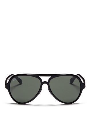 首图 - 点击放大 - RAY-BAN - Acetate aviator sunglasses