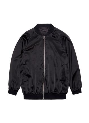 Figure View - Click To Enlarge - Jay Ahr - Snake embellished unisex silk satin bomber jacket