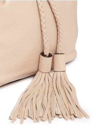 - Rebecca Minkoff - 'Isobel' small tassel drawstring leather backpack