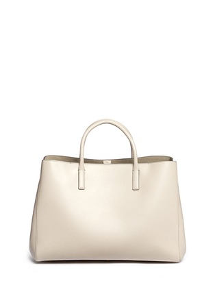 Back View - Click To Enlarge - Anya Hindmarch - 'Space Invaders Maxi Featherweight Ebury' leather tote