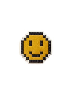 Anya Hindmarch 'Pixel Smiley' leather sticker