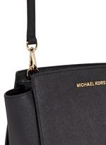 Selma' medium saffiano leather messenger bag