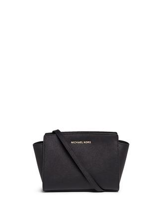 Michael Kors-Selma' medium saffiano leather messenger bag