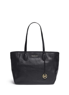 Michael Kors 'Ani' large top zip pebbled leather tote