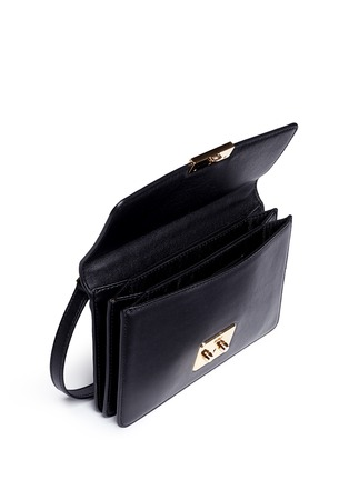 Detail View - Click To Enlarge - Michael Kors - 'Sloan' large leather crossbody bag