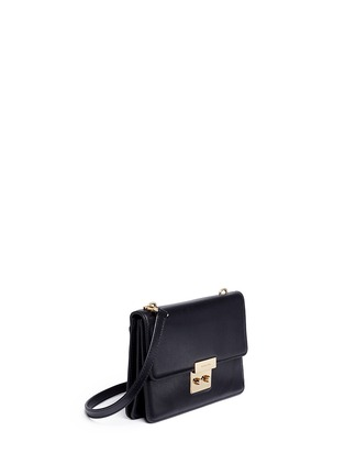Front View - Click To Enlarge - Michael Kors - 'Sloan' large leather crossbody bag