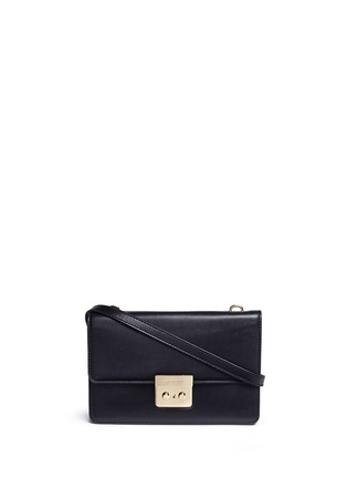 Main View - Click To Enlarge - Michael Kors - 'Sloan' large leather crossbody bag