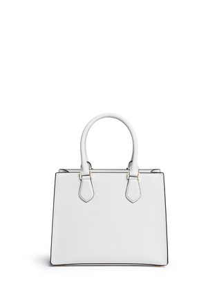 Back View - Click To Enlarge - Michael Kors - 'Bridgette' medium saffiano leather boxy tote