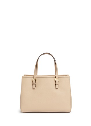 Back View - Click To Enlarge - Michael Kors - 'Jet Set Travel' medium saffiano leather east west tote