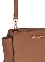 'Selma' medium saffiano leather messenger bag