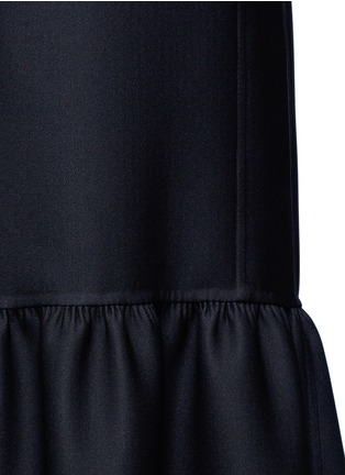 Detail View - Click To Enlarge - The Row - 'Alexander' peplum hem belted coat