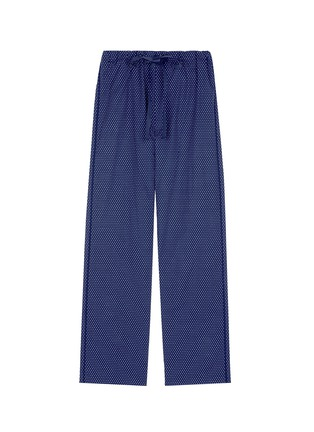Main View - Click To Enlarge - Araks - 'Ally' polka dot cotton tie pants