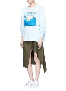 Ground-ZeroNirvana CD cover embroidery sweatshirt