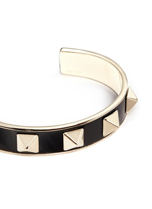 Detail View - Click To Enlarge - Valentino - 'Rockstud' enamel cuff