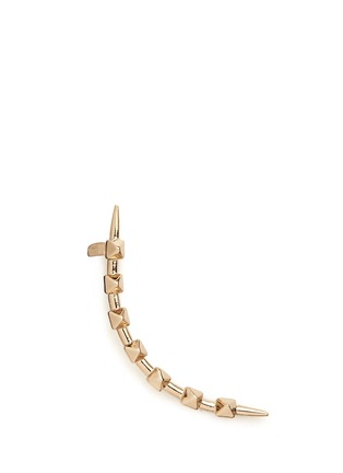 Main View - Click To Enlarge - Valentino - 'Rockstud' single climber earring