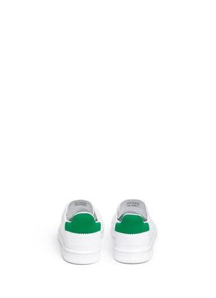 Back View - Click To Enlarge - Adidas - 'Stan Smith Primeknit' kids sneakers