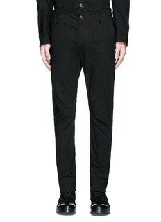 Uma Wang 'Felix' slim fit stretch linen pants