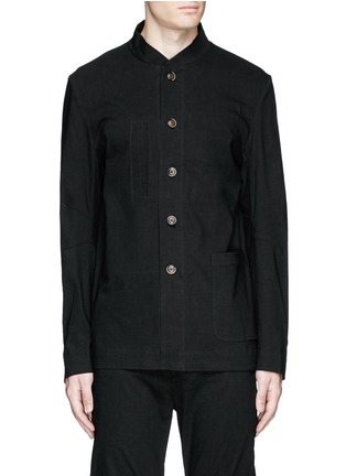 Main View - Click To Enlarge - Uma Wang  - 'Franco' stretch linen jacket