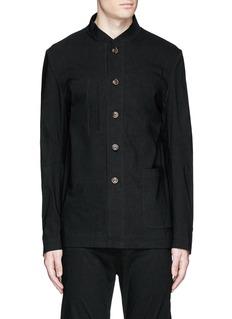 Uma Wang 'Franco' stretch linen jacket