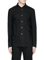 'Franco' stretch linen jacket