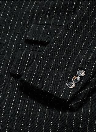 Uma Wang -'Tommaso' pinstripe wool cavalry twill coat