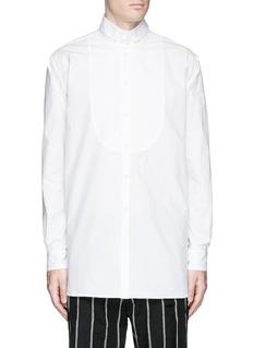 Uma Wang 'Martino' bib front cotton shirt