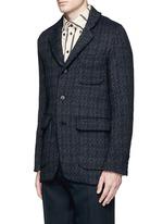 'Tomas' wool blend jacquard jacket