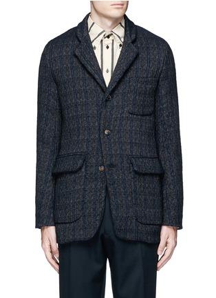 首图 - 点击放大 - UMA WANG  - TOMAS凹凸纹理混羊毛西服外套