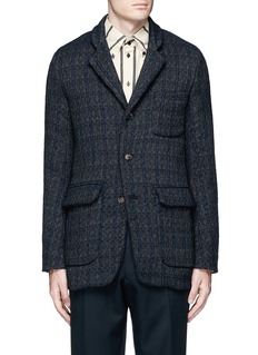 Uma Wang  'Tomas' wool blend jacquard jacket