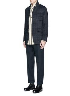 Uma Wang 'Tomas' wool blend jacquard jacket