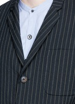 'Gabriele' stripe cotton-wool jacket