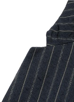 Uma Wang -'Gabriele' stripe cotton-wool jacket