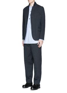 Uma Wang 'Gabriele' stripe cotton-wool jacket