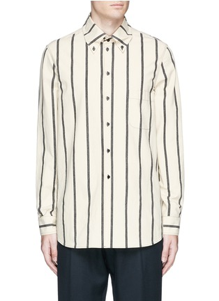 Main View - Click To Enlarge - Uma Wang  - 'Tazio' stripe cotton shirt