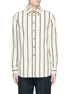 Uma Wang  'Tazio' stripe cotton shirt