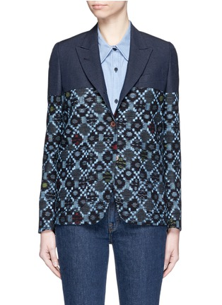 Main View - Click To Enlarge - IBRIGU - One of a kind kimono tailored jacket