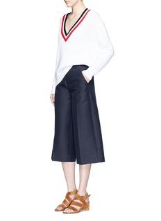 MO&Co.Cotton-linen culottes