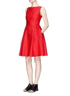 MO&Co.Mickey Mouse jacquard sleeveless dress