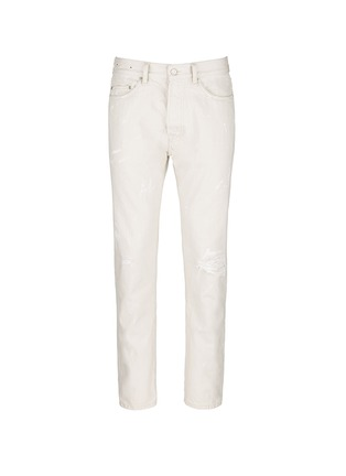Main View - Click To Enlarge - COVERT - Distressed straight leg jeans