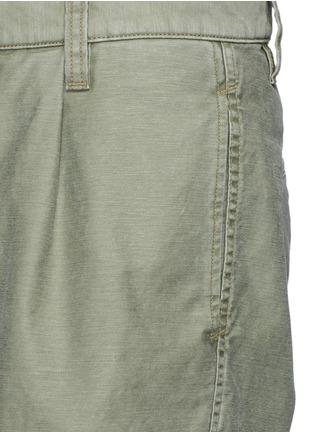 细节 - 点击放大 - COVERT - 单色纯棉短裤