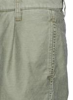 单色纯棉短裤