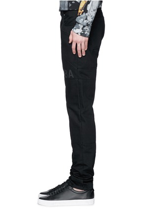 细节 - 点击放大 - HOOD BY AIR - 拼贴装饰纯棉牛仔裤