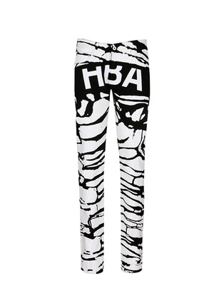 首图 - 点击放大 - HOOD BY AIR - 斑马纹涂层纯棉牛仔裤