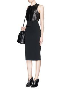 PROENZA SCHOULERSlash waist stretch matte viscose skirt