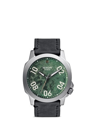 Main View - Click To Enlarge - Nixon Accessories - 'Ranger 45 Leather' watch